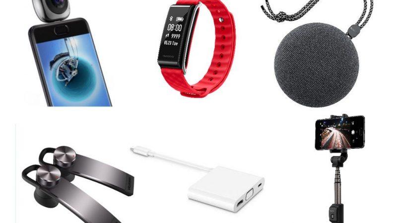 Diversos accesorios para nuevos smartphones