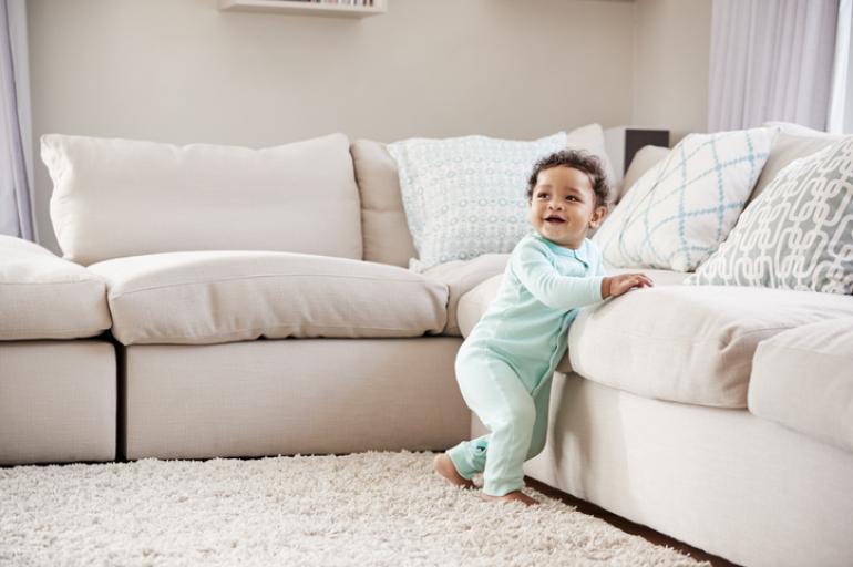 4 ejercicios para ayudar a tu bebé a caminar