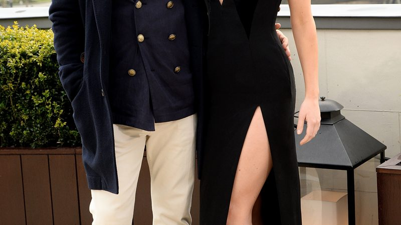 Jennifer Lawrence y sus tacones peep-toe