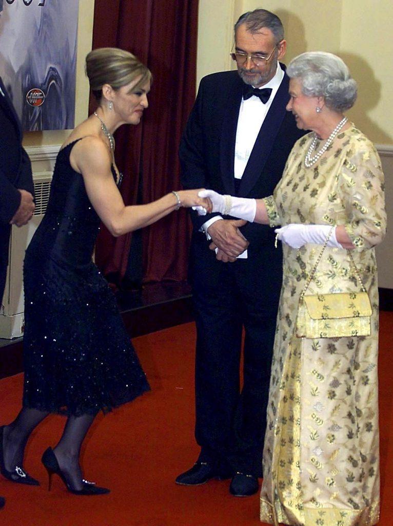 Madonna y la reina Elizabeth