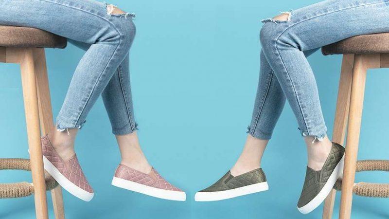 Los zapatos casuales para mujer