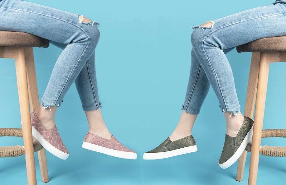 Beneficio de los zapatos casuales para mujer
