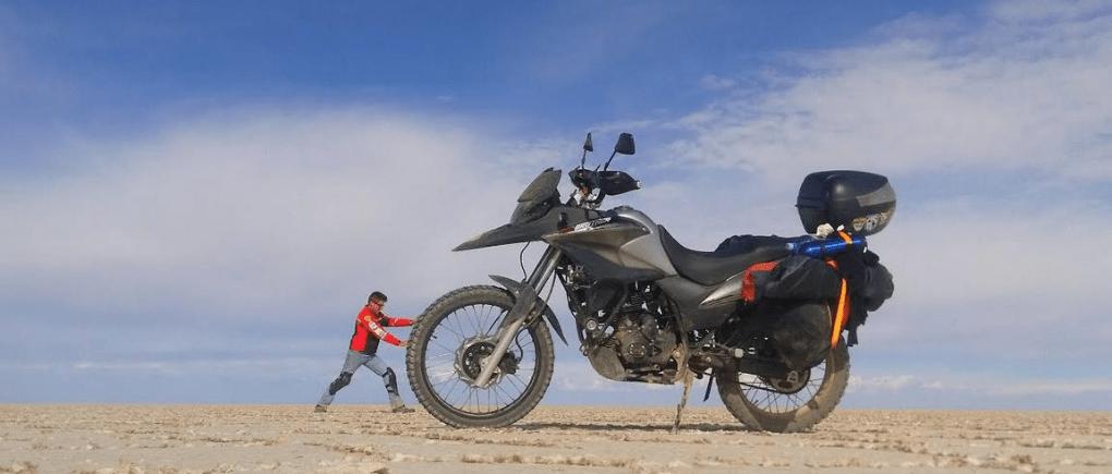 Realiza un viaje seguro en motocicleta