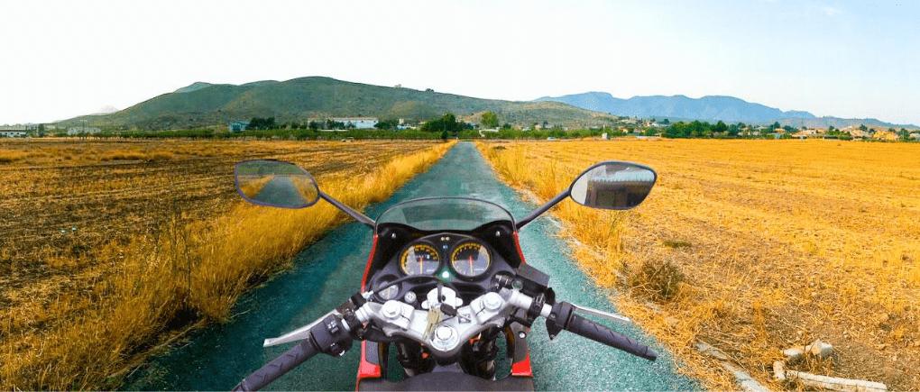 Seguro para salir en carretera en moto