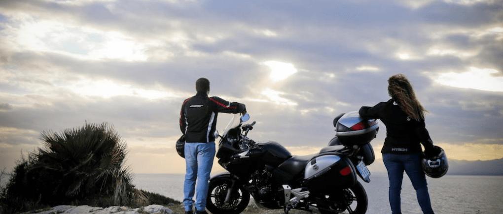 Un viaje seguro en moto