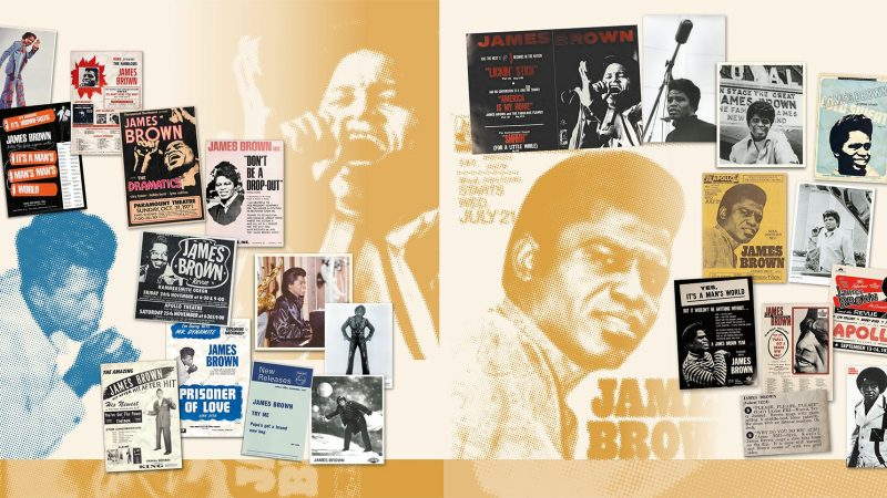 Collected, nuevo LP de James Brown