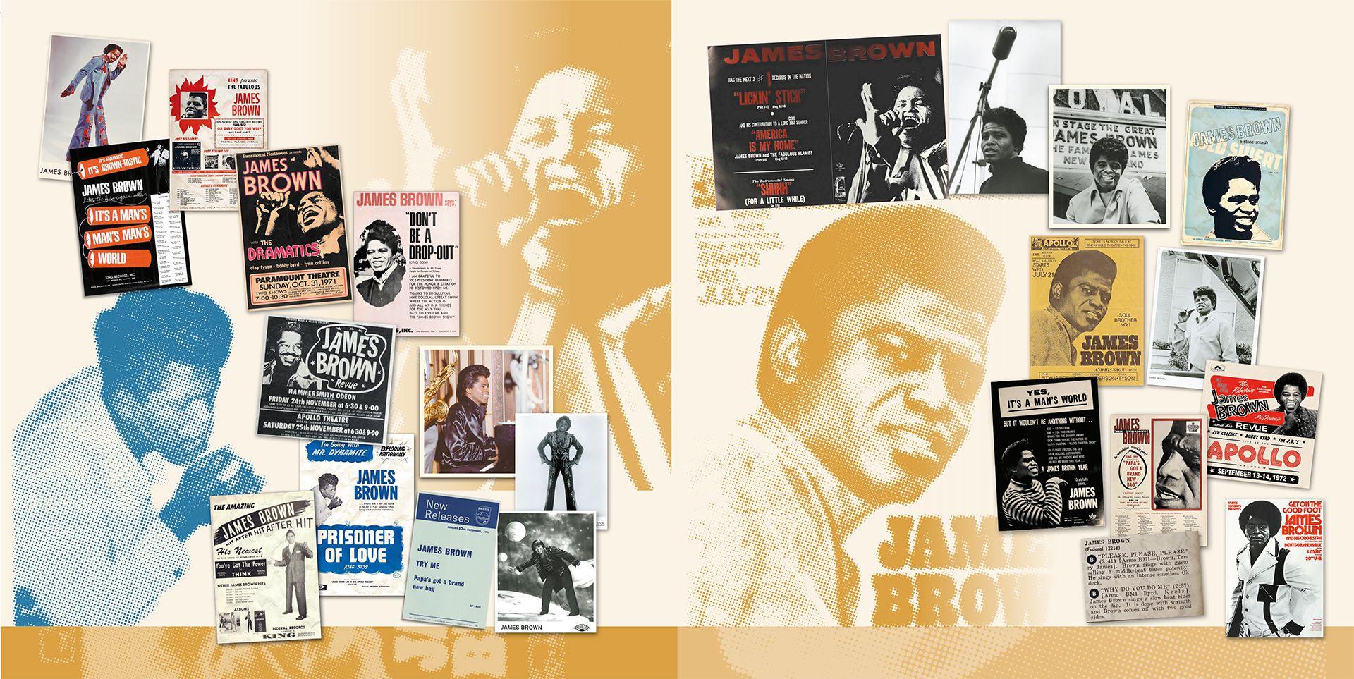 Un nuevo LP recopilatorio Collected de James Brown inspira una mirada al estilo icónico del cantante