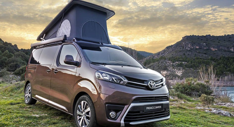 Toyota Autocaravana personalizada 2020