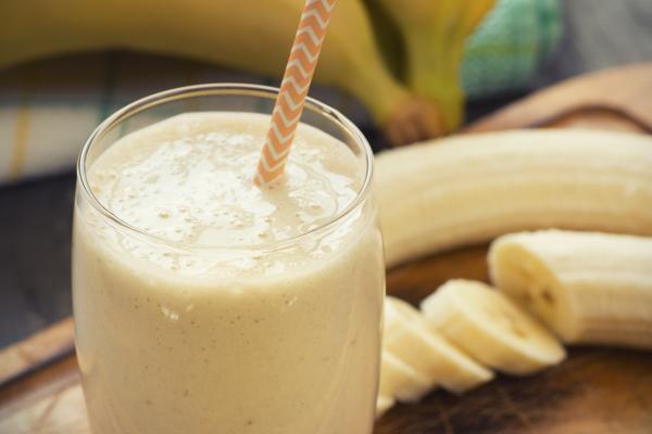 Batido de proteína de plátano