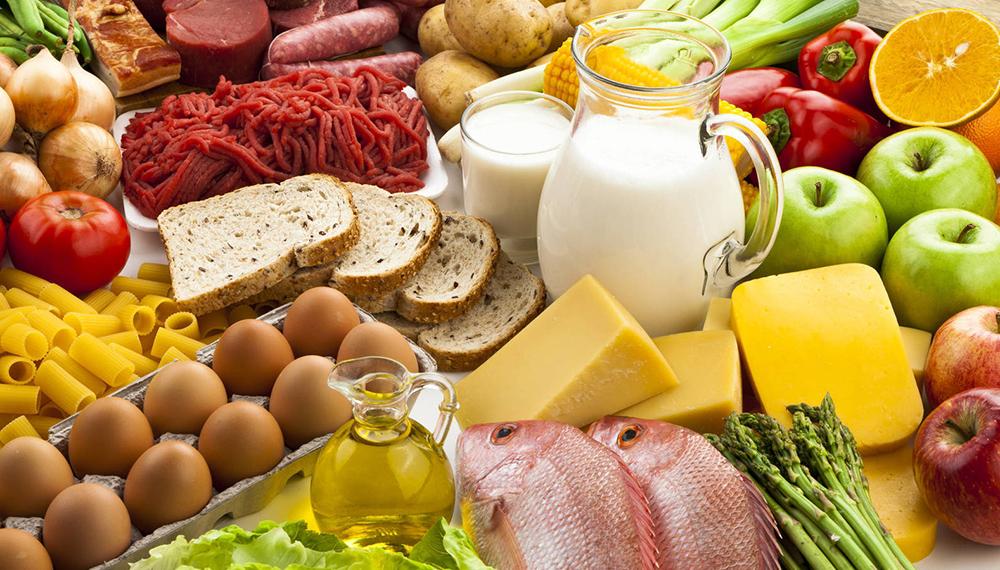 La comida proporciona vitaminas y minerales