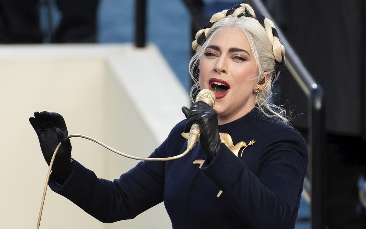 Todos los detalles detrás del maquillaje de inauguration day de Lady Gaga