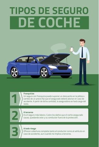 infografía sobre tipos de seguro