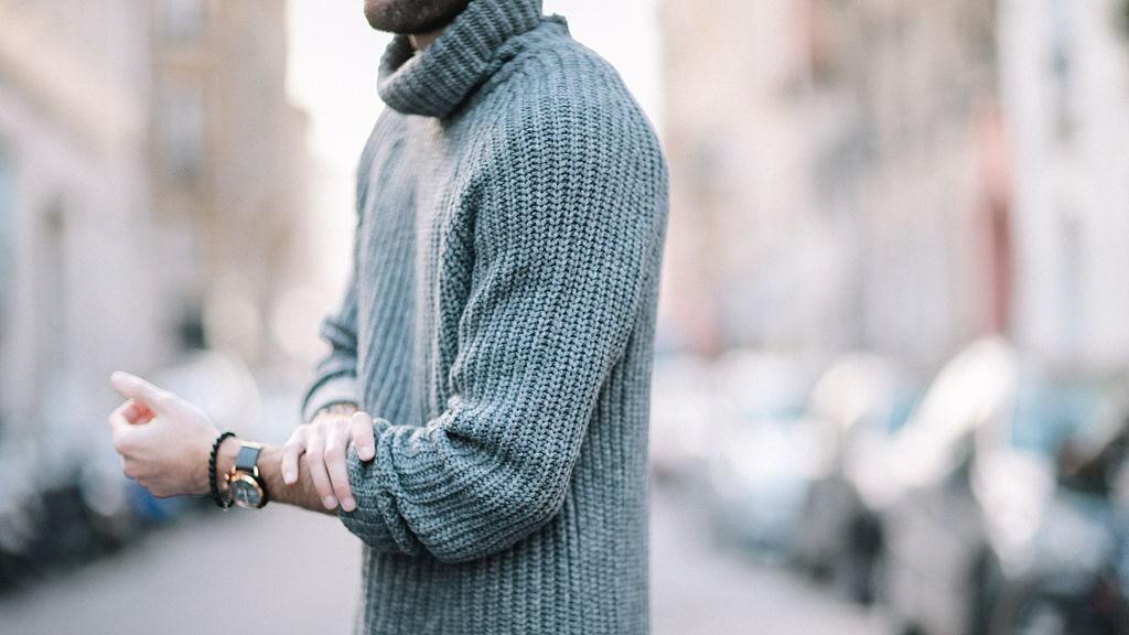 Los suéteres de hombre para la oficina