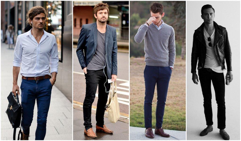 Elegir pantalones de vestir o chinos