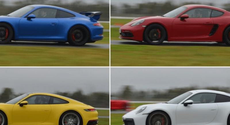 Autos de diferente color