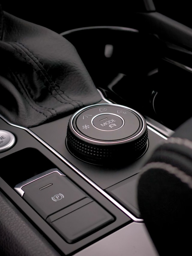 Caja de velocidades de auto