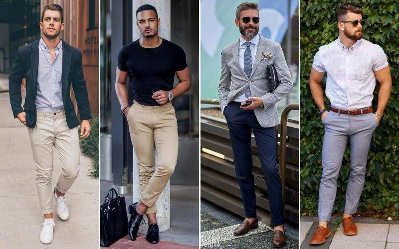 Tipos de pantalones de hombre que dan estilo