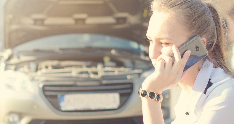Seguro de auto tras accidente de auto